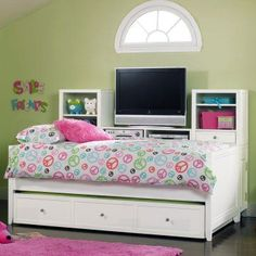 Storage Daybed Cheap Found On Hayneedle Com Girls Bedroom Furniturehooker