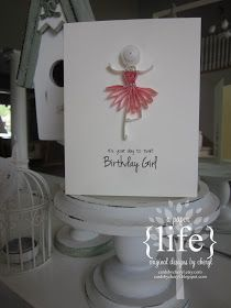 ~ a paper life: ~ quilled ballerinas