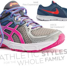Bold #athletic styles are the perfect reason to #getmoving! #stayfit #shoes