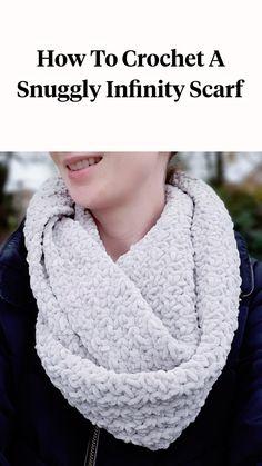 Crochet Bowl, Chunky Crochet, Easy Crochet, Knit Crochet, Crochet Winter, Crochet Things, Sewing Patterns Free, Crochet Patterns, Scarf Patterns