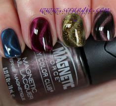 Magnetic Nail Polishes