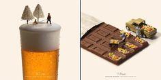 El calendario más original es un mundo en miniatura