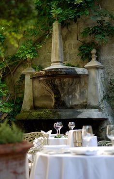 Hotel d'Europe, Avignon, France Unique Hotels, Beautiful Hotels, Amazing Hotels, Hotels And Resorts, Best Hotels, Luxury Hotels, Provence France, Paris France, Antibes