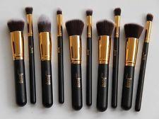 10 Pcs/lot Hot Sale New Jessup Black Gold Professional Makeup Set Brushes Tools