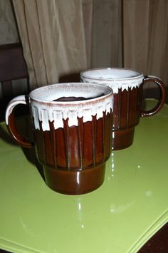 Vintage Coffee Mugs by CleverGirlVintage on Etsy, $10.00