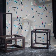 Bits & Pieces by Kasia Gawron — Shop Wallpaper Crafts, Designer Wallpaper, Miami, Minimalist, Wallpapers, Modern, Shop, Inspiration, Furniture
