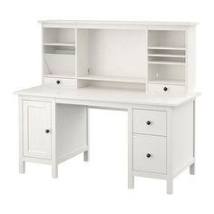 HEMNES Escritorio&módulo adicional IKEA