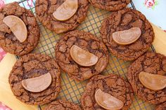 Delicious Moist & Crunchy Cookies full to the brim with chunks of Terry's Chocolate Orange – heavenly. I have ALWAYS adored Chocolate + Orange flavouring...