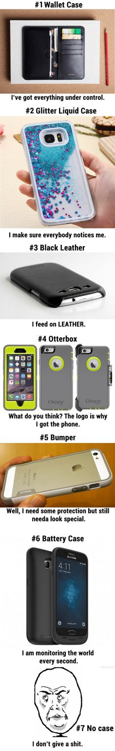 Your phone cases tell people who you really are!