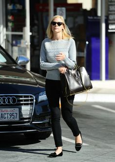 Jaime King looking gorgeous (duh) wearing the Lily flats from my #rachelzoe collection