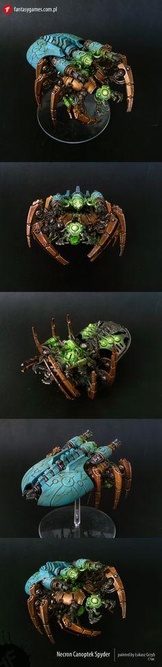CoolMiniOrNot - Necron Canoptek Spyder by fantasygames.com.pl