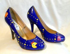 Hey, I found this really awesome Etsy listing at http://www.etsy.com/listing/78483130/custom-hand-painted-ms-pac-man-high-heel