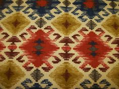 Ethnic Tribal Print Upholstery fabric per yard /Sofa coverings /Chair Seat Cushions & Pads/ Home decor fabric
