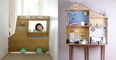 """Przeczytaj: 10 pomysłów na rewelacyjne zabawki z kartonów w serwisie dla """"rodziców poszukujących"""" - dziecisawazne.pl"""
