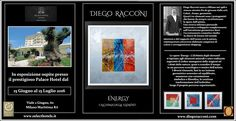 Mostre in Emilia-Romagna: DIEGO RACCONI espone al Palace Hotel di Milano Mar...