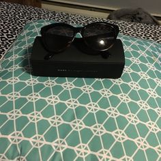 Marc Jacobs sun glasses Brand new Marc Jacob sunglasses I work for an eye doctor and bought these but just got a new pair I would really like to sell but if you have anything good you want to trade let me know:) Marc by Marc Jacobs Accessories Glasses