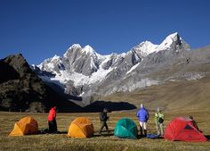 Cordillera Huayhuash, Peru | 20 Places To Go Camping Before You Die