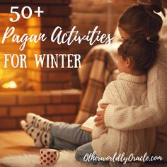 Get out your mittens, mugs, and mistletoe, because Winter is here! Check out these 50 fun, family oriented pagan activities for Winter! Pagan Christmas, Winter Christmas, Winter Holidays, Xmas, Christmas Tree, Christmas Desserts, Winter Crafts For Kids, Winter Kids, Kids Crafts