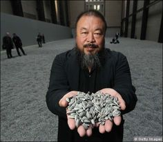 Ai Weiwei - I have seen this art installation at the Tate Modern