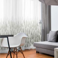Hendrix sheer curtaining available from Whatnot. Woodstock, Accent Chairs, Curtains, Lotus, Fabric, Leather, Range, Furniture, Design