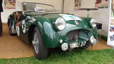 TRs feature at the 2015 Goodwood Revival
