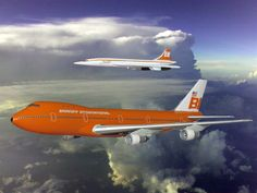 Fat Albert and Concorde - Braniff