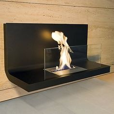 Wall Flame I Fireplace by Radius at Lumens.com