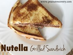 Nutella Grilled Sand