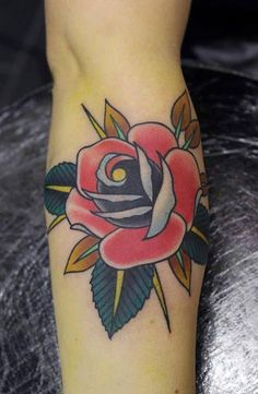 Rose Tattoo By Phatt German