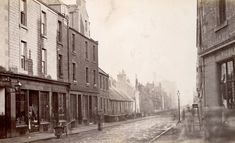 General view of Scouringburn, Dundee. Dundee City, Photo L, Old West, Historical Photos, Great Britain, Old Photos, Scotland, Past, Scenery