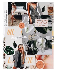 New Fashion Magazine Layout Collage Mood Boards Ideas Collage Poster, Mode Collage, Aesthetic Collage, Poster Layout, Collage Art, Flower Collage, Collage Design, Photo Pour Instagram, Instagram Fashion
