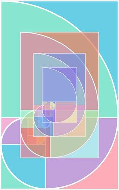 Golden Ratio Abstract Painting