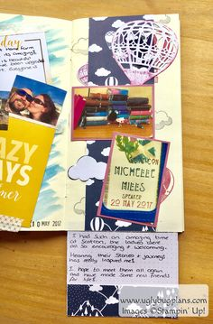 Planner Girls Collective : Scrapbooking Tips : Stampin' Up! Lift Me Up!