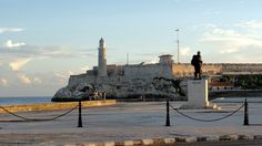 #MorroCastle #Havana was built by the Spaniards to protect the entrance to Havana's vast #harbor. Today its #lighthouse is a fundamental part of #navigation into Havana's bay for #ships. Learn more about this historic building on www.CapitolioHavana.com