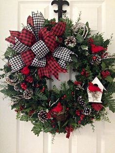 white christmas wreaths rh pinterest com
