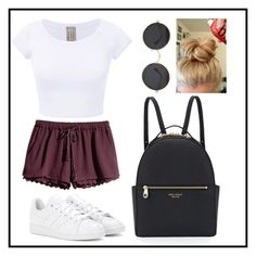 """""""Untitled #528"""" by juliatini-je on Polyvore featuring H&M, adidas and Henri Bendel"""