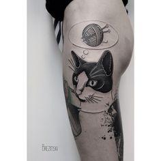 Surreal Dotwork Tattoos By Ilya Brezinski Tattoo Blackwork And - Surreal black ink tattoos by ilya brezinski