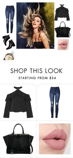 """""""Sin título #227"""" by accp06 ❤ liked on Polyvore featuring Alice + Olivia, Fendi and Chanel"""