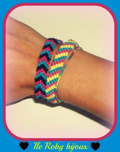 braccialetti macramè realizzati a mano ( handmade ) da ile roby bijoux - primavera estate 2012