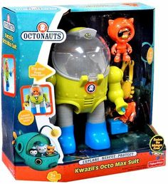 $17.99 Amazon.com: Fisher Price Octonauts Vehicle Playset Kwazii's Octo Max Suit: Toys & Games
