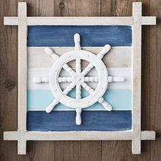 Deco 79 Polystone Metal Coral Candle Holder, 11 by - Home Style Corner Nautical Theme Decor, Nautical Home, Coastal Decor, Diy Home Decor, Nautical Colors, Nautical Interior, Nautical Bedroom, Vintage Nautical, Coastal Homes