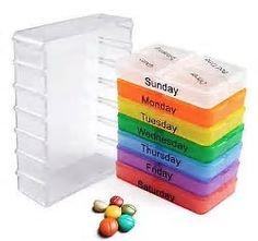 Bildergebnis für tablettendose 7 tage