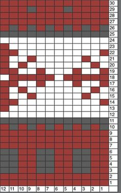 This dress was knit with a long cast on of 96 stitches. I used 8 repeats of the chart pictured on the left. The chart is offset at the start so a snowflake is centered on the front of the dress. I...