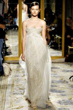 Illusion neckline via Ethereal Embellishment / Wedding Style Inspiration / LANE (PS follow The LANE on instagram: the_lane)