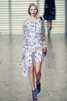 Chloé Fall 2008 Ready-to-Wear Fashion Show - Aline Weber (Next)
