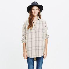 Madewell - Flannel Sunday Shirt in Wichita Plaid