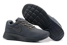 check out da57e 6e3e0 NIKE ROSHE RUN Black White Dot Mesh Running Shoes   ❤Women s Fashion❤    Pinterest   Nike roshe, Roshe and Running shoes