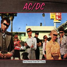 AD DC - Dirty Deeds Done Dirt Cheap 1976