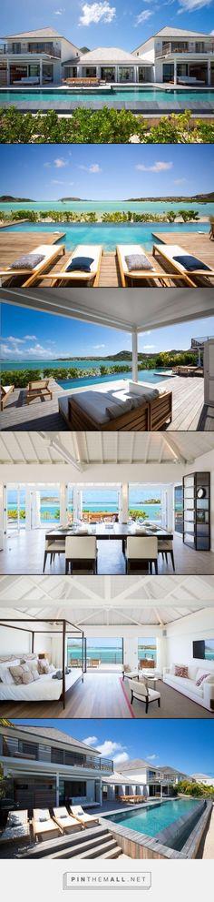 Villa Bleu- Grand Cul de Sac, St. Barthelemy- WIMCO Villas- 6 bed 6 baths #stbarths #caribbean #travel #vacation