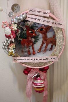adorbs #christmas #craft. Precious!